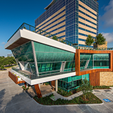 <b>Treehouse</b><br>963 Bunker Hill<br /> Houston, TX 77024<br /> 14,700 sf | Studio RED Architects<br /> G. Lyon Photography, Inc.